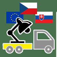 Doprava po ČR, SK A EU